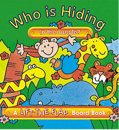 Who is Hiding in the Jungle? - Mini Lift-the-Flap Board Book
