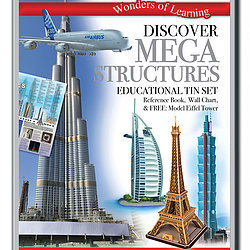Discover Mega Structures - Wonders of Learning Tin Set