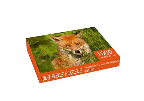 1000 Piece Jigsaw - Red Fox
