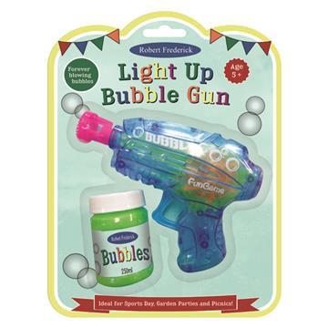 Light Up Bubble Gun - Fun Day Games