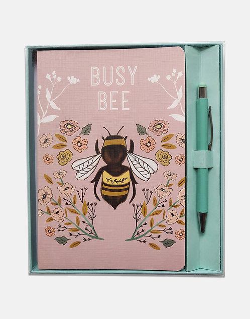 Notebook and Pen Set - Beekeeper