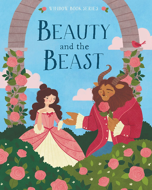 Beauty and the Beast - Window Book