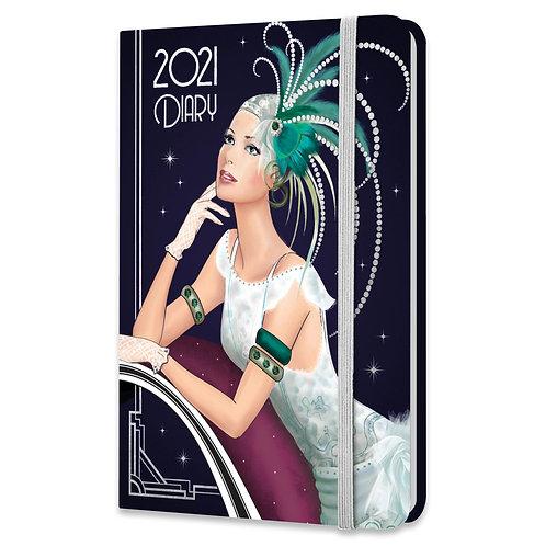 2021 Art Deco A6 Diary