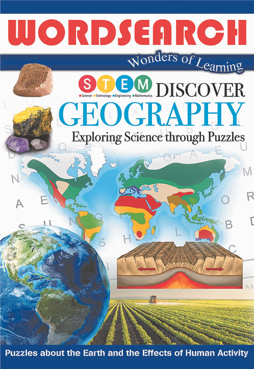 Discover Geography Word Searches