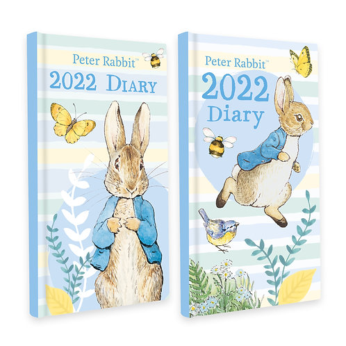 2022 Slim Diary - Beatrix Potter Peter Rabbit