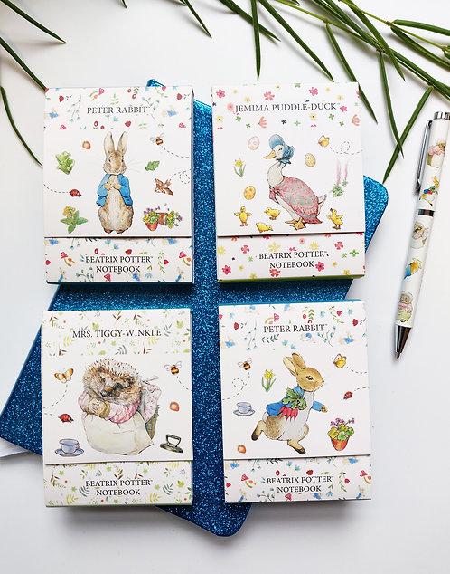 Mini Notepads - Beatrix Potter