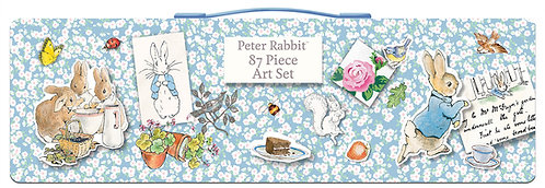 Beatrix Potter's Peter Rabbit 87 Piece Art Set
