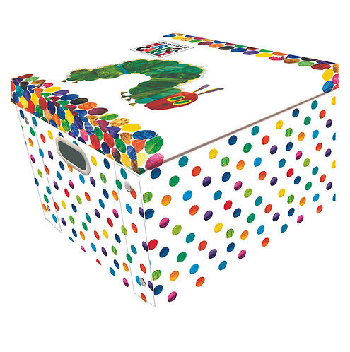 Collapsible Storage Box - Eric Carle Hungry Caterpillar