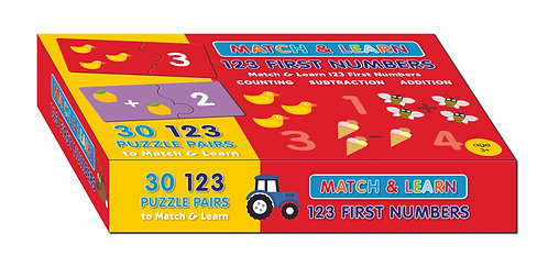 Puzzle Pairs - 123 First Numbers