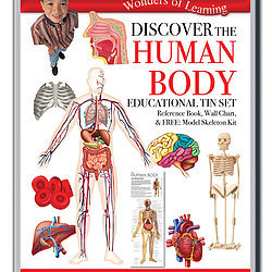 Discover the Human Body - Wonders of Learning Tin Set