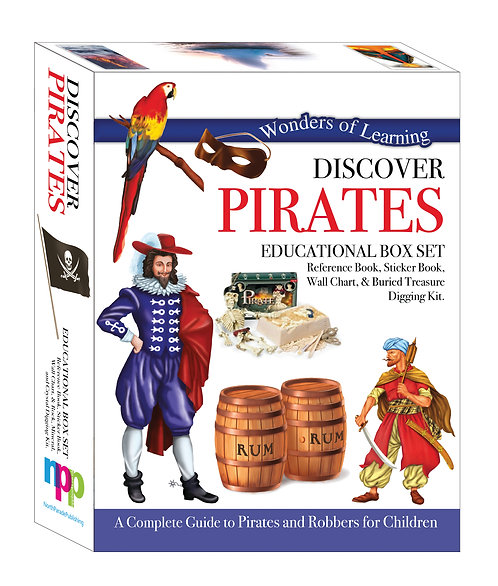 Discover Pirates - Wonders of Learning Box Set