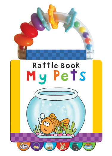My Pets Rattle Book