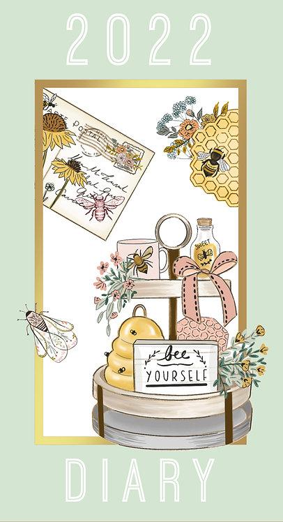 2022 Slim Diary - Beekeeper
