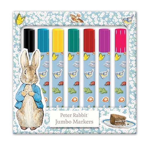 Beatrix Potter's Peter Rabbit 8 Jumbo Markers