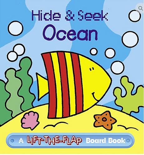 Hide & Seek Ocean - Mini Lift-the-Flap Board Book