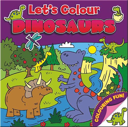 Let's Colour - Dinosaurs