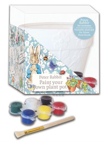 Beatrix Potter's Peter Rabbit Paint Your Own Plant Pot