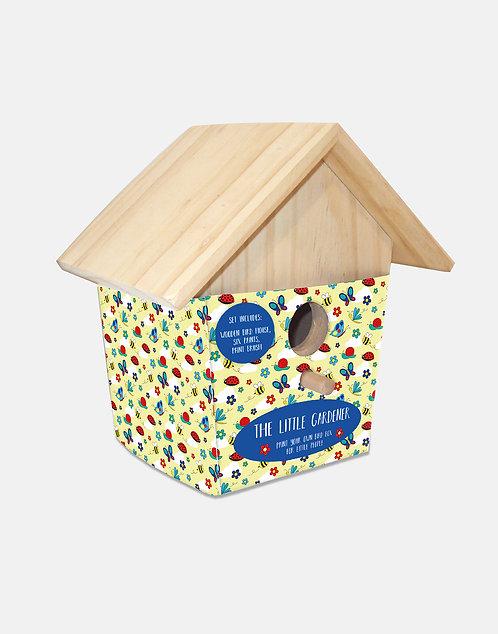 Little Gardener Paint Your Own Bird House