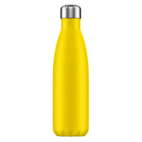 Large 1 Litre Water Bottle - Yellow
