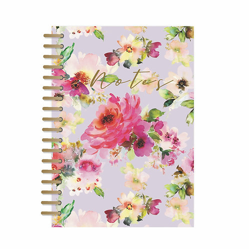 A5 Notebook - Lilac Bloom