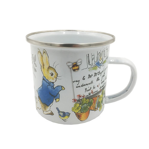 Beatrix Potter's Peter Rabbit Enamel Mug