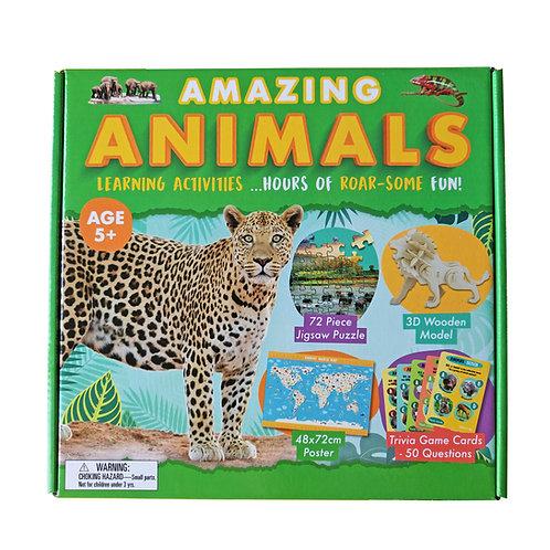 Amazing Animals - Activity Box Set