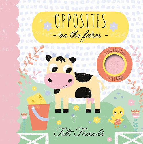 Opposites on the Farm - Felt Friends