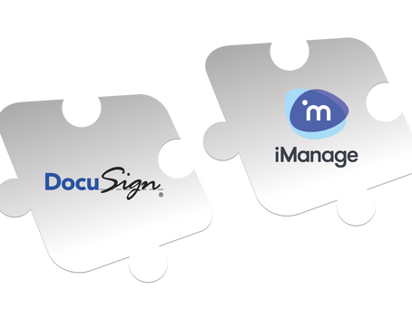 Blue Car Technologies' DocuSign Connector for iManage Work - New Release