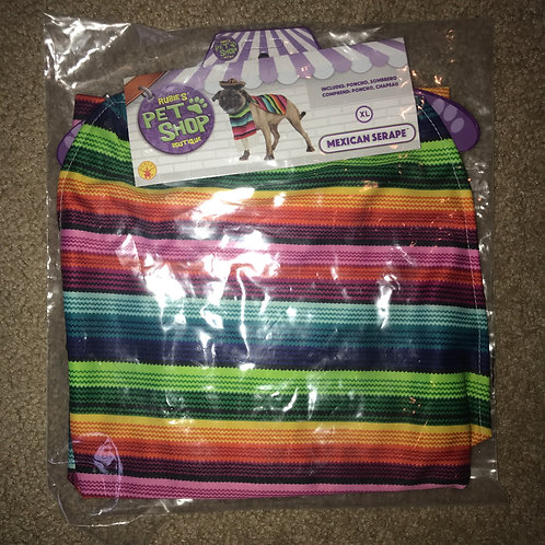 X-Large Mexican Serape Halloween Costume