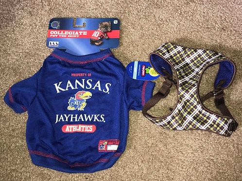 Small Jayhawk Tee-Shirt with Harness