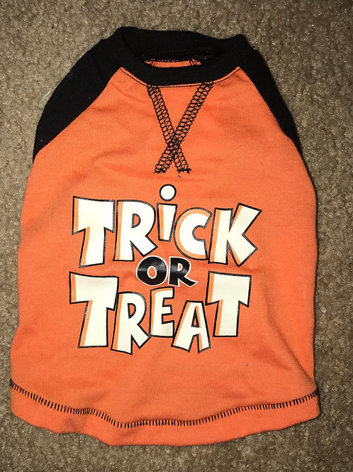 Small Trick or Treat Tee