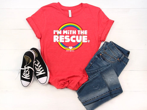 I'm with the Rescue T-shirt (Groupie Tee)