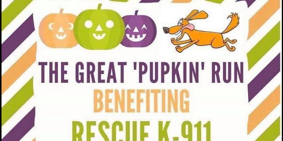 Rescue K-911's 2nd Annual Great PUPkin Run!!!