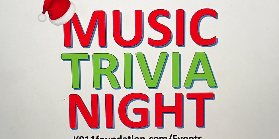 Rescue K-911's Music Trivia Night at The Roxy