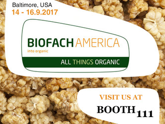BIOFACH AMERICA - Izmir Organic  Baltimore USA