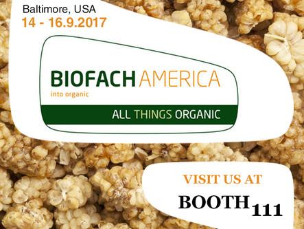 BIOFACH AMERICA - BERRYLOVE LLC. Baltimore USA
