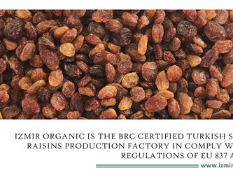 Turkey is the leading supplier of Sultana Raisins