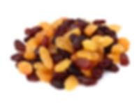 Sultana Raisins, Thompson Raisins and Golden Raisins.