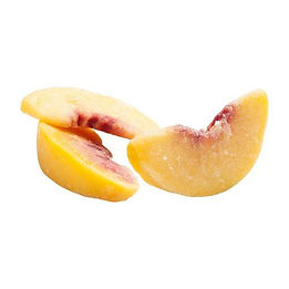 Food Export Group supply IQF Peach which obtained from washed, selected, cored, peeled, controlled and diced tasty peaches.