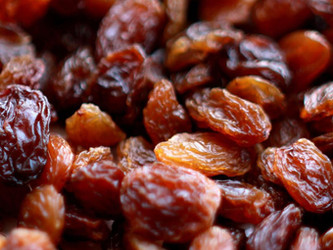 The record in the export of Turkish seedless raisins!