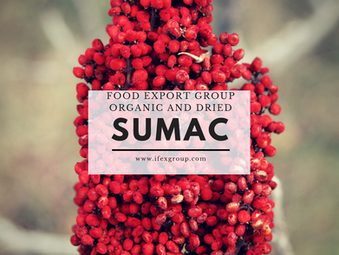 Organic Dried Sumac, Culinary Purposes