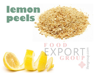Lemon Peels - FoodExport Group Manufacturers & Suppliers - Turkey