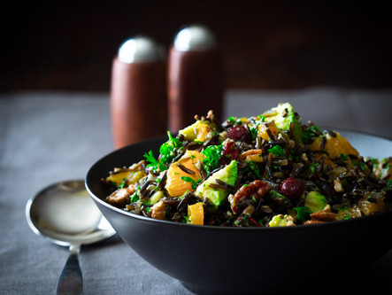 *Recipe* Rice Salad with Dried Fruits