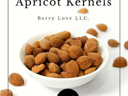 Organic Bitter & Sweet Apricot Kernels, Raw Seeds, All Natural