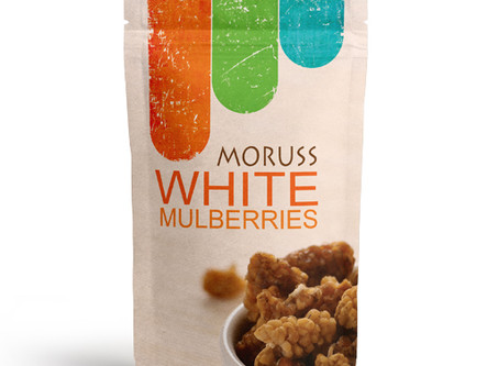 Moruss White Mulberries, 5 Oz. or 10 Oz. Find us on Amazon and e-bay !