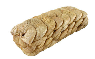 dried figs layer