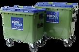 770l kommunális hulladékgyűjtő edény