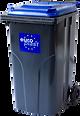 240l kommunális hulladékgyűjtő edény