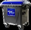 1100l kommunális hulladékgyűjtő edény