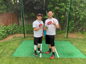 Fire Frogs win a windy, long Father's Day Classic